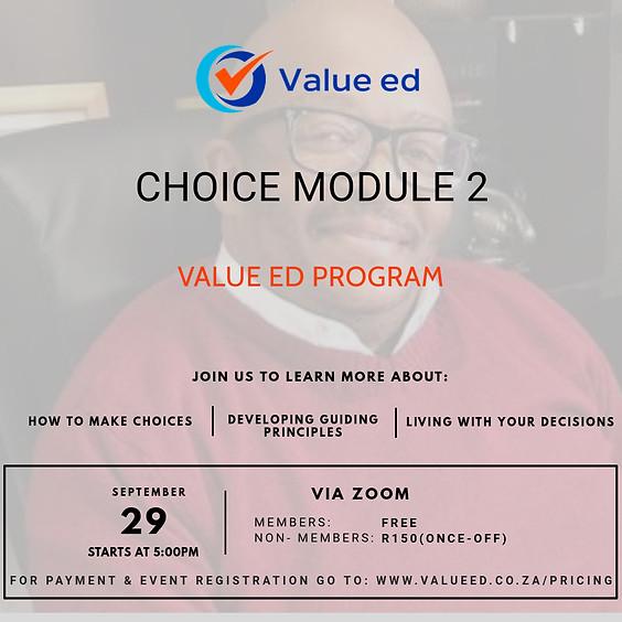 Choice - Module 2