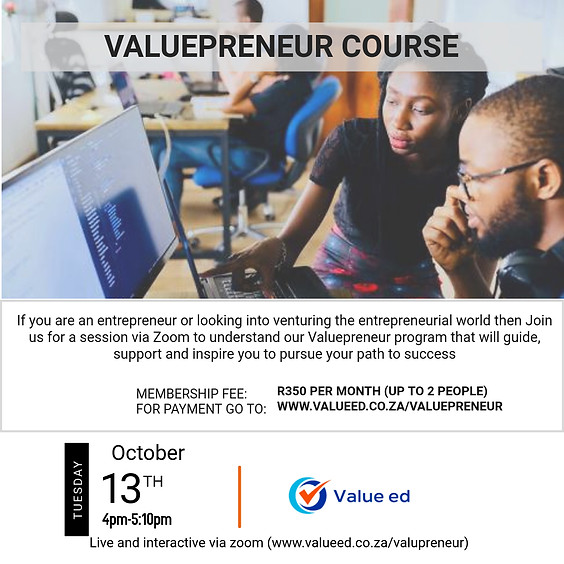 Course: Valuepreneur