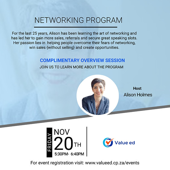Overview: Networkring Program