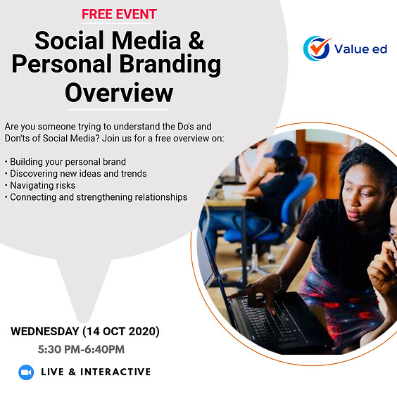 Overview: Social Media & Personal Branding