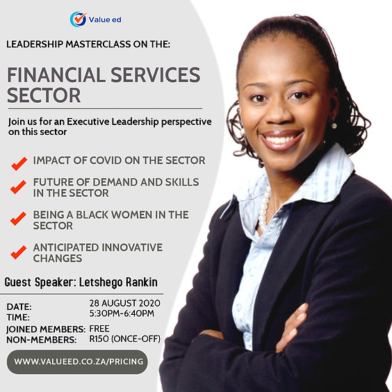 Leadership Masterclass: Financial Services