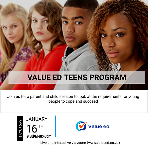 Overview: Value ed Teens