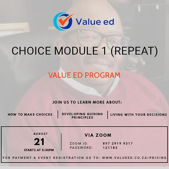 Choice Module 1