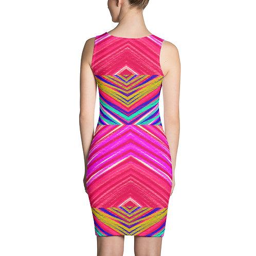 Eklectic Rainbow by Arema Arega (Sublimation Cut & Sew Dress)