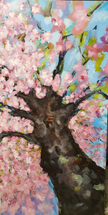 Blossom, Abstract Floral