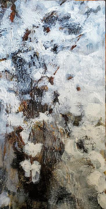 Spellbound Too  Canvas, Acrylic, Mixed Media