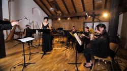 l'ensemble Diachronie, concert au Centre le Phénix