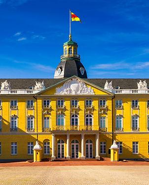 Karlsruhe Palace. The 18th century Karlsruhe Palace (German_ Karlsruher Schloss). Karlsruh