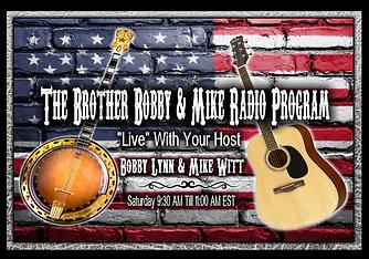 Bobby & Mike Radio Program Logo Without