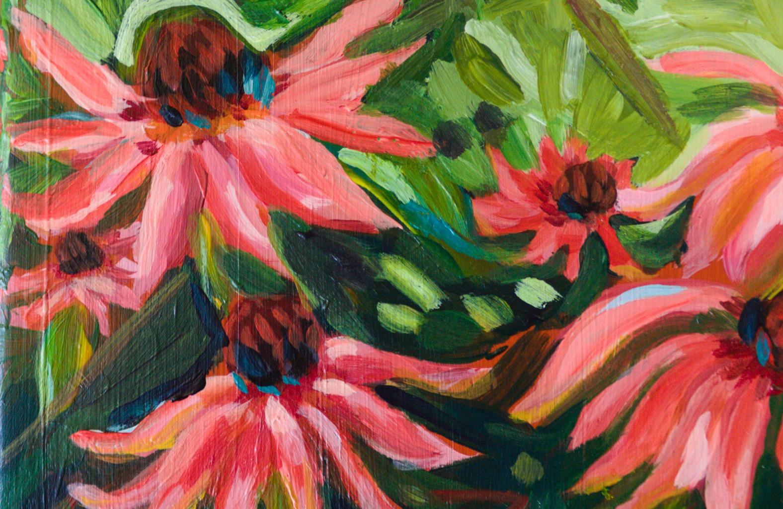 Paris Krahn Art | Daisies | Butterfly Bible