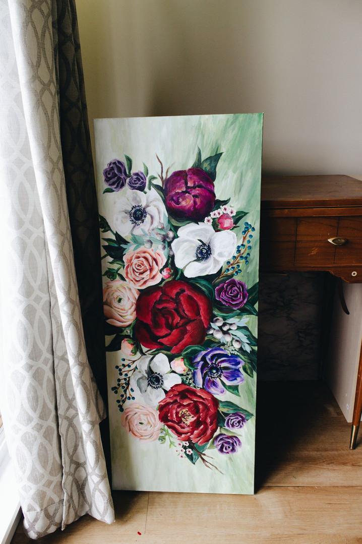 Paris Krahn Art | Flower Arrangement