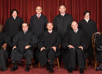 The Judicious Networks of the Current Supreme Court
