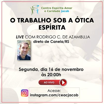 LIVE 16 novembro RODRIGO CAVALCANTI DE A