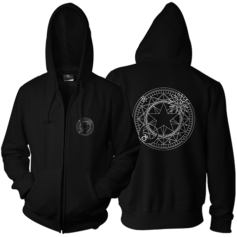 Magic Circle Zip Hoodie