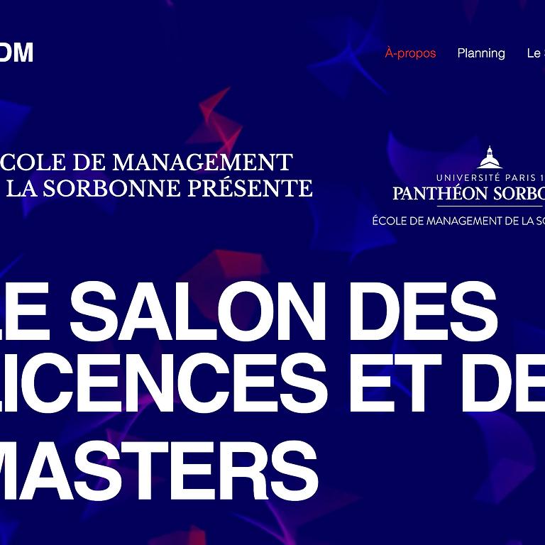 Salon des Masters de l'École de Management de la Sorbonne