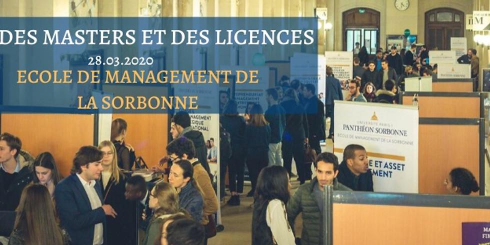 Salon des masters et des licences de l'EM Sorbonne