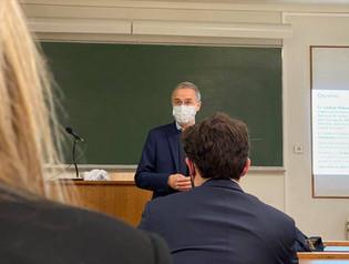 Conférence avec Christophe de Charentenay