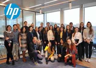 Visite de HP