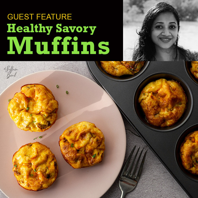 Healthy Savory Muffins