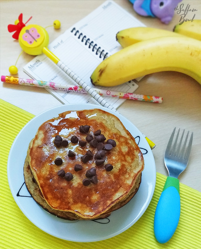 Sugarfree Banana Pancakes