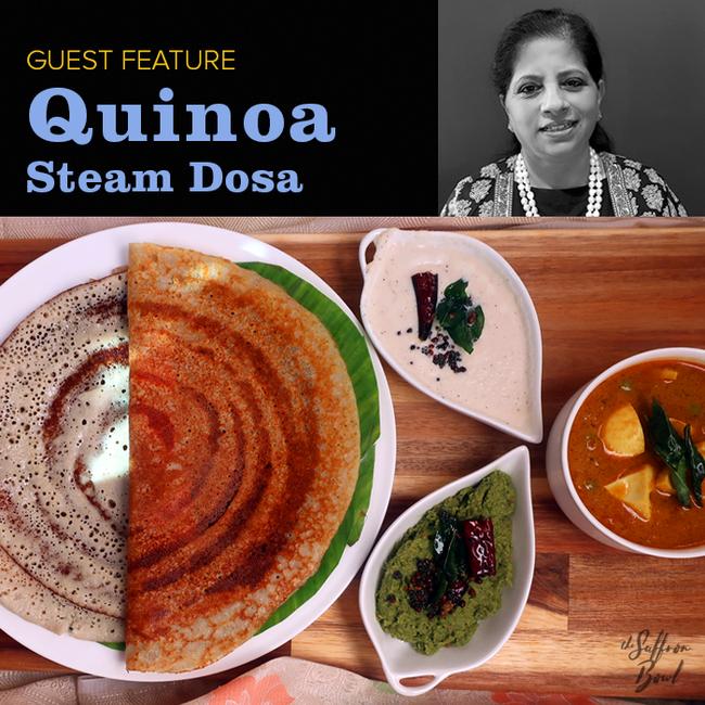 Quinoa Steam Dosa