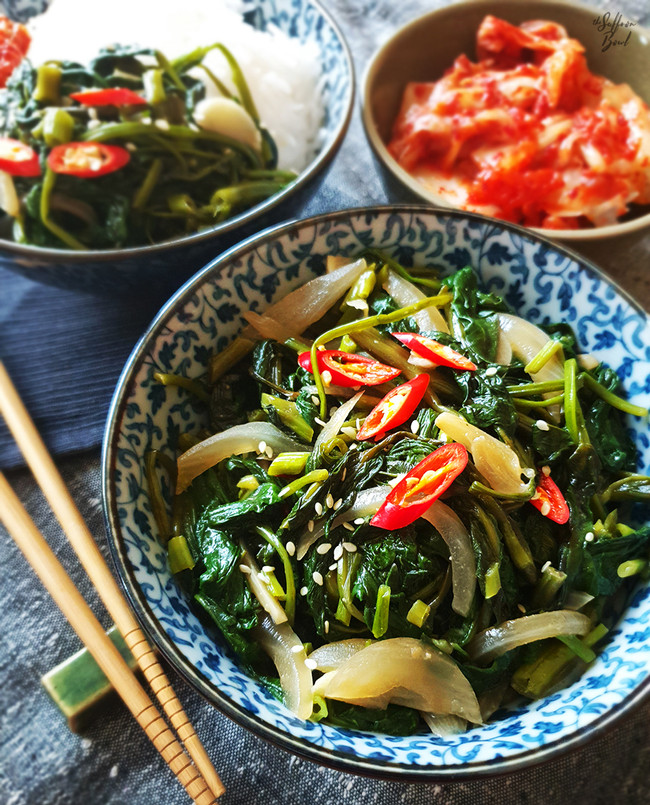 Stir Fry Water Spinach