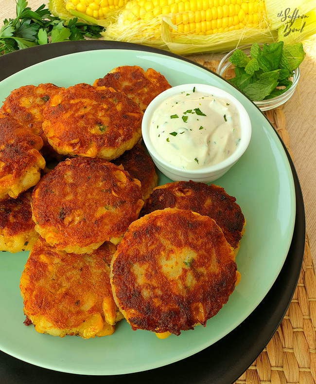 Sweet Corn Tikkis