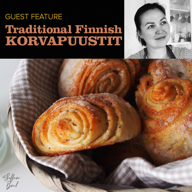 Traditional Finnish Korvapuustit