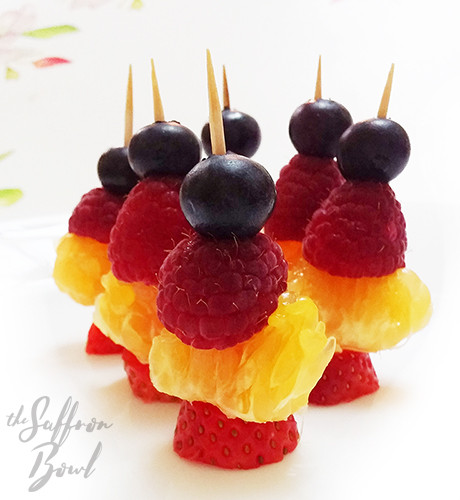 Easy Fruit Kababs for Kids