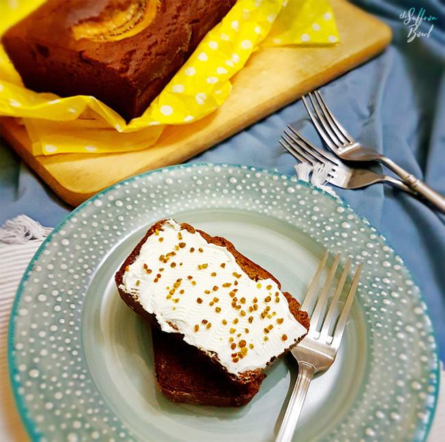 Sugar free Plantain Cake