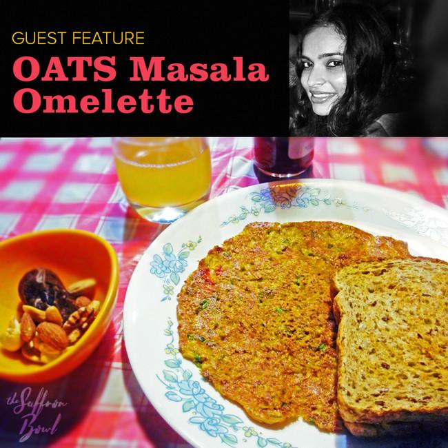 Oats Masala Omelette