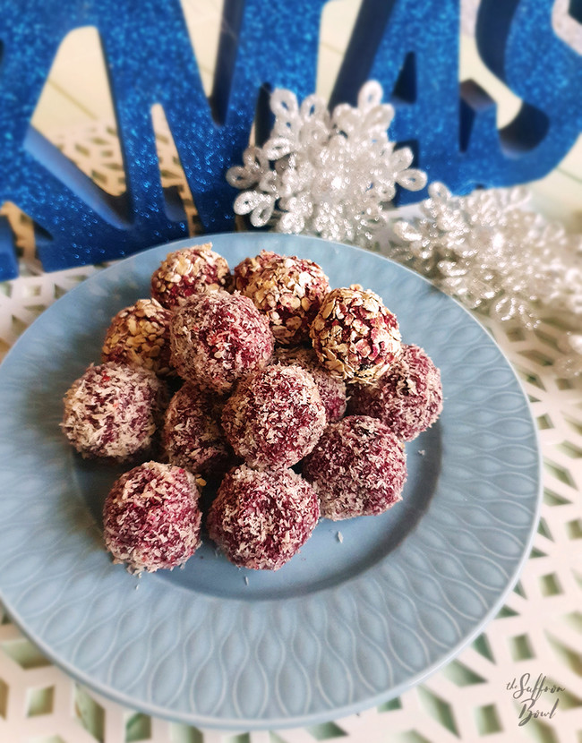 Beetroot Energy Balls