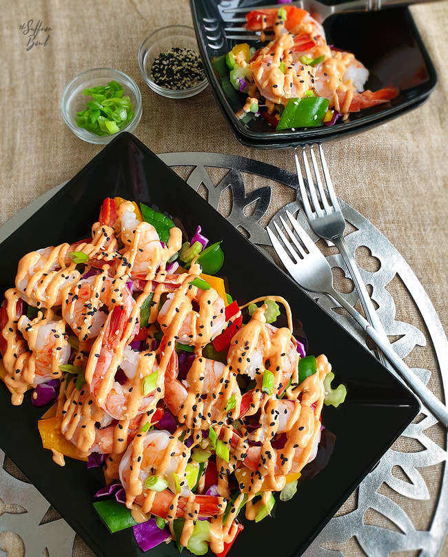 Jumbo Prawn Salad