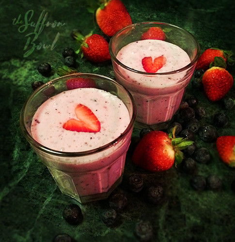 Yummy Berry Smoothie
