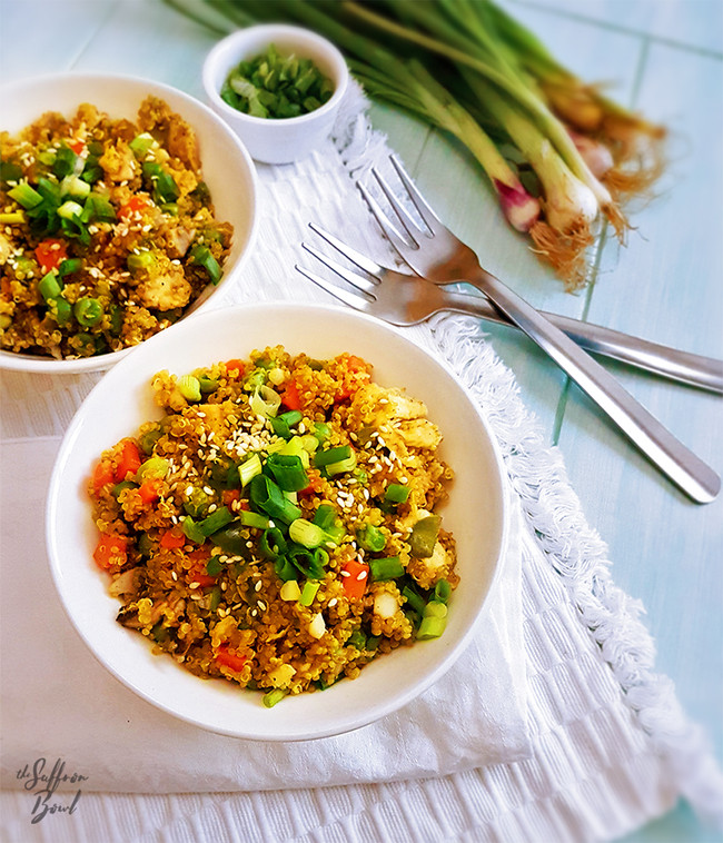Turmeric Infused Quinoa