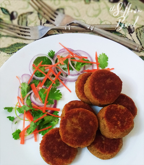 Low Fat Shammi Kababs