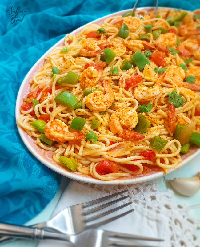 Cajun Shrimp Spaghetti