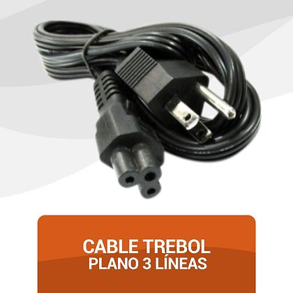 Cable Trebol Plano 3 Líneas