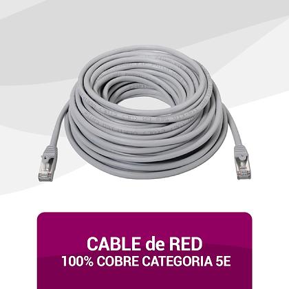 Cable 100% Cobre Categoría 5E