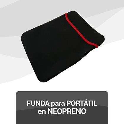 Funda para Portátil en Neopreno
