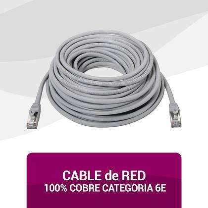 Cable 100% Cobre Categoría 6E