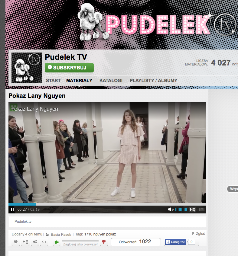 LANA NGUYEN PRESS DAY / PUDELEK TV