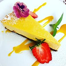 Sernik mango / Mango cheesecake