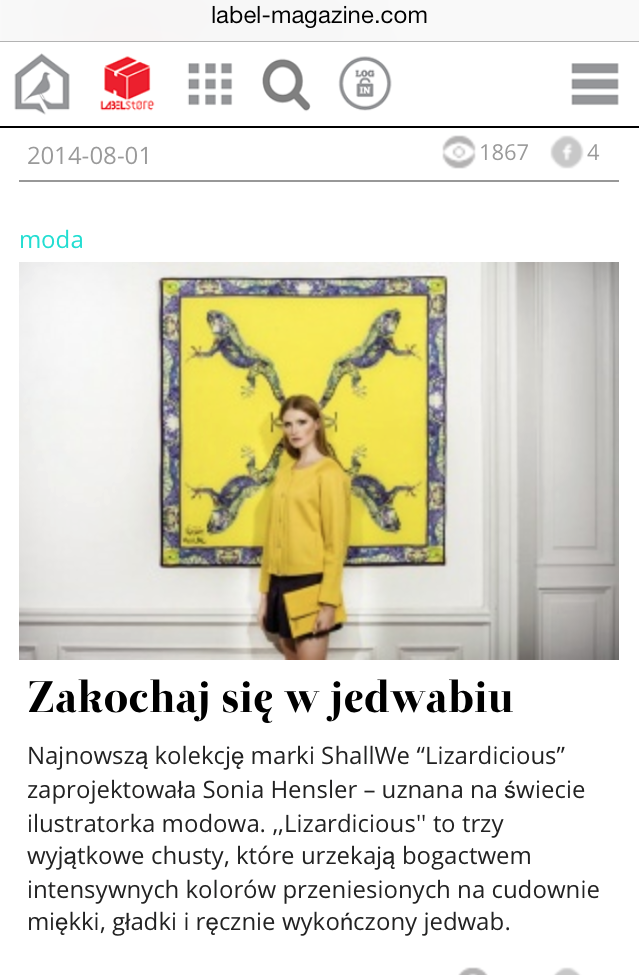 ShallWe /   LABEL MAGAZINE