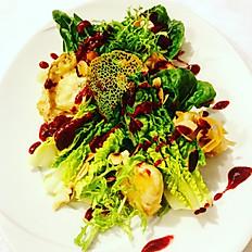Sałata z kozim serem / Goat cheese salad