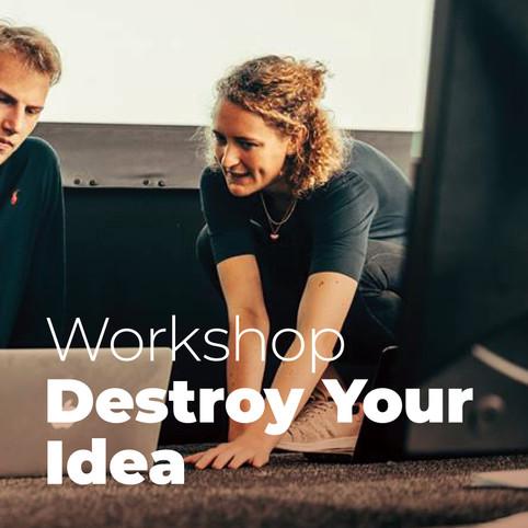 Destroy Your Idea: Workshop