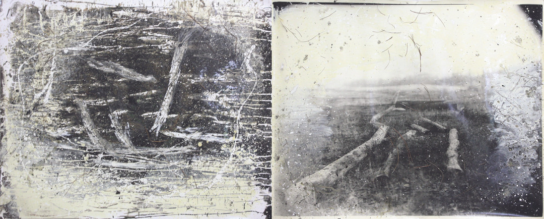 Sally and Jesse Mann with Liz Liguori and The Mountain Lake Workshop, Three Graces Diptych #2, 2013