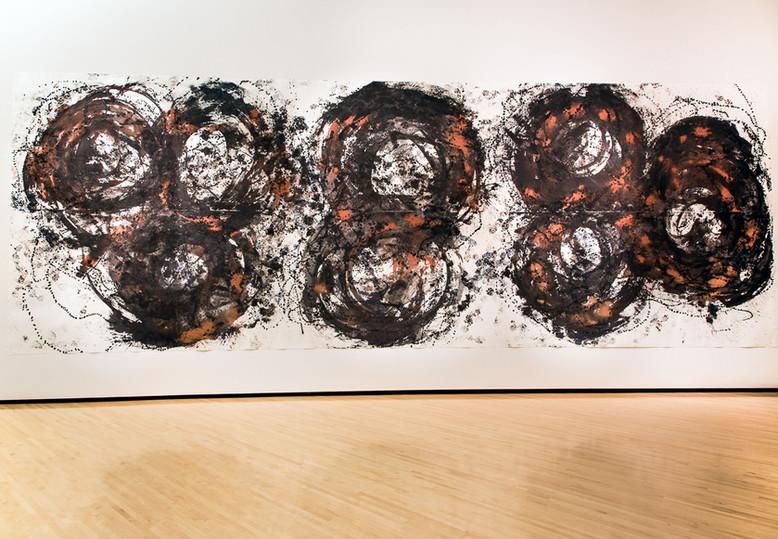Dorothea Rockburne, Angular Movement, 2012