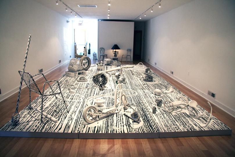 "Jiro Okura, ""Souls on Garbage"", 1998"