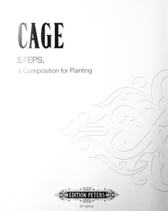 CAGE: STEPS, A Composition for Painting
